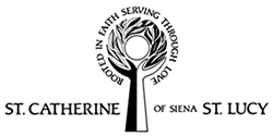 St. Catherine of Siena - St. Lucy Parish Logo
